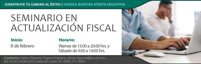 Seminario Actualizacion Fiscal 8feb